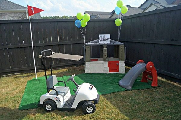 Golf Theme First Birthday Party