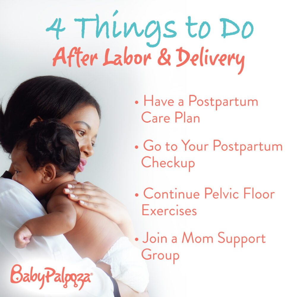 tips for after labor and delivery