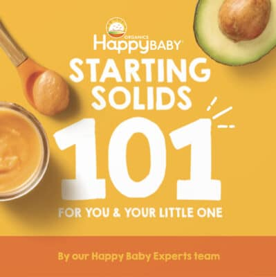 Happy Baby Starting Solids